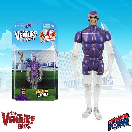 "Biff Bang Pow!: The Venture Bros. Series 1 - Phantom Limb 3 3/4"" Figure"