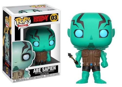 POP! Comics: Hellboy - Abe Sapien Vinyl Figure #3