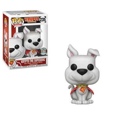 POP! DC Comics: Krypto the Superdog Vinyl Figure #235 (Funko Specialty Series)
