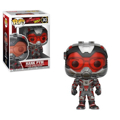 POP! Marvel: Ant-Man and The Wasp - Hank Pym Vinyl Bobblehead Figure #343