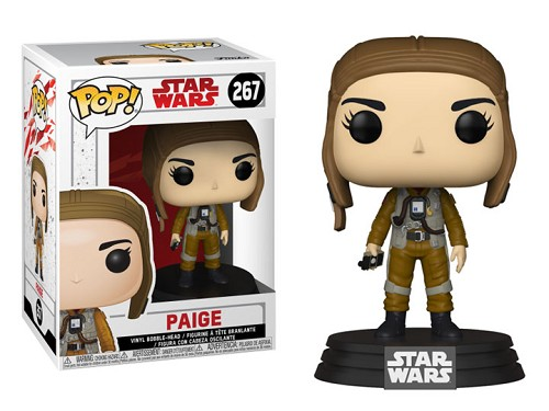 POP! Star Wars: The Last Jedi - Paige Vinyl Bobblehead Figure #267