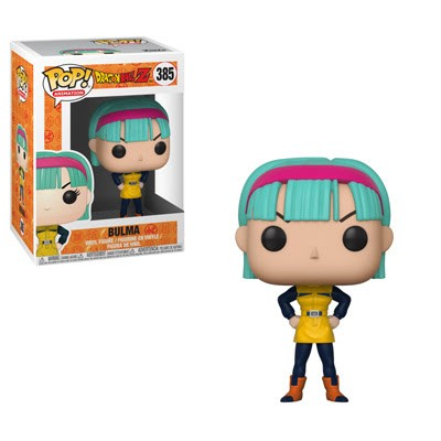 POP! Animation: Dragonball Z - Bulma Vinyl Figure #385