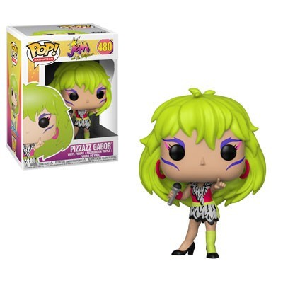 POP! Animation: Jem and the Holograms - Pizazz Gabor Vinyl Figure #480