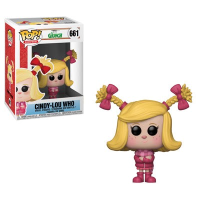 POP! Movies: The Grinch Movie - Cindy-Lou Who Vinyl Figure #661