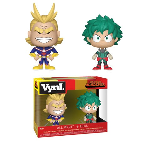 Funko Vynl: My Hero Academia - All Might & Deku Vinyl Figure 2-Pack