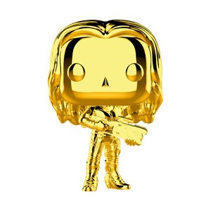 POP! Marvel: MCU 10th Anniversary - Gamora (Gold Chrome) Vinyl Bobblehead Figure #382