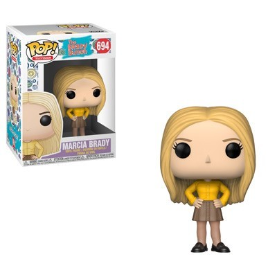 POP! Television: The Brady Bunch - Marcia Brady Vinyl Figure #694