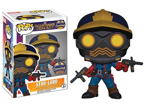 POP! Marvel: GoTG - Classic Star-Lord Vinyl Bobblehead Figure #395 (Comicfest 2018 PX Exclusive)
