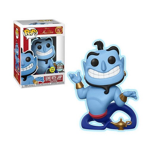 [PRE-SALE] POP! Disney: Aladdin - Genie w/ Lamp GID Vinyl Figure #476 (Funko Specialty Series) [Ships in February]