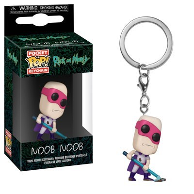 [PRE-SALE] POP! Keychain: Rick & Morty - Noob-Noob Keychain [Ships in December]