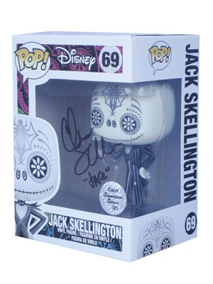 POP! Signature Series: The Nightmare Before Christmas - Jack Skellington (Day of the Dead) Vinyl Figure #69 [Signed by Chris Sarandon]
