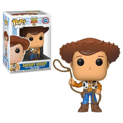 POP! Disney: Toy Story 4 - Sheriff Woody Vinyl Figure #522