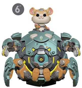 "[PRE-SALE] POP! Games: Overwatch - Wrecking Ball 6"" Vinyl Figure [Ships in May]"