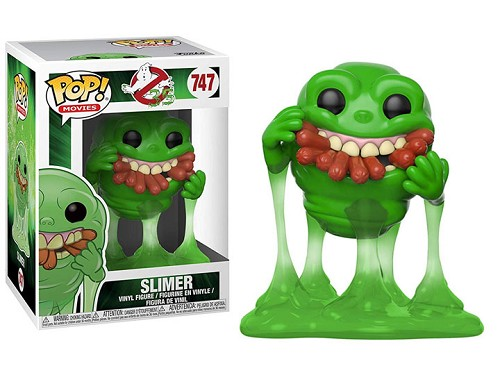 POP! Movies: Ghostbusters - Slimer w/ Hot Dogs Vinyl Figure #748
