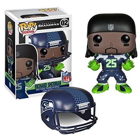 POP! Sports: NFL - Richard Sherman Vinyl Figure #2