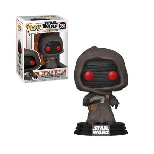 POP! Star Wars: The Mandalorian - Offworld Jawa #351 Vinyl Figure