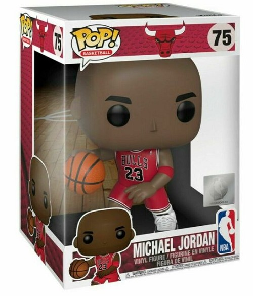 POP! Basketball: Michael Jordan #75 Vinyl Figure 10 Inch