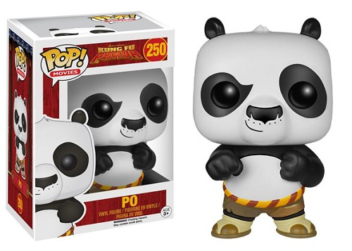 POP! Movies: Kung Fu Panda - Po Vinyl Figure #250