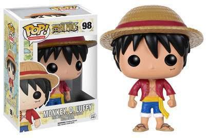 POP! Animation: One Piece - Monkey D. Luffy Vinyl Figure #98