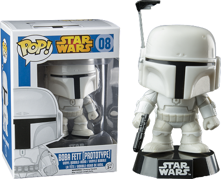 POP! Star Wars: Boba Fett Prototype Bobblehead Vinyl Figure #8 (Walgreens Exclusive)
