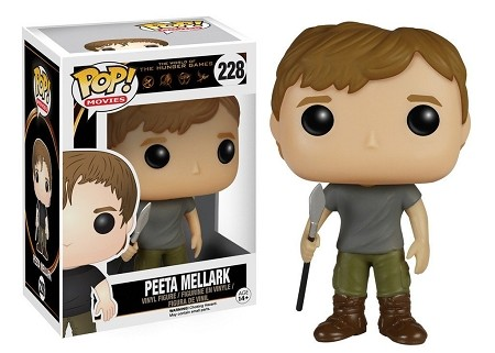 POP! Movies: The Hunger Games - Peeta Mellark Vinyl Figure #228