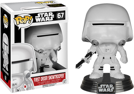 POP! Star Wars: The Force Awakens - First Order Snowtrooper Vinyl Bobblehead Figure #67