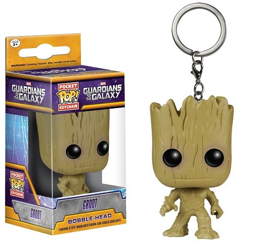 POP! Keychain: Guardians of the Galaxy - Groot Keychain