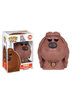 POP! Movies: The Secret Life of Pets - Duke Vinyl Figure #296