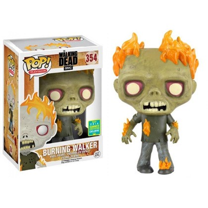 POP! Television: The Walking Dead - Burning Walker Vinyl Figure #354 (SDCC 2016 Exclusive)*