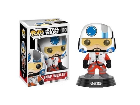 POP! Star Wars: The Force Awakens - Snap Wexley Vinly Bobblehead Figure #110