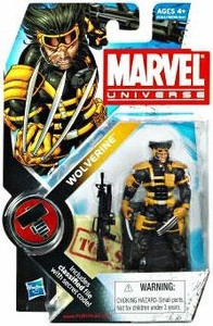 "Marvel Universe: Series 2 - Wolverine (Team X) 3.75"" Action Figure #27"