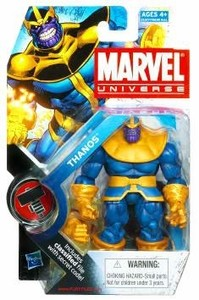 "Marvel Universe: Series 2 - Thanos 3.75"" Action Figure #34"