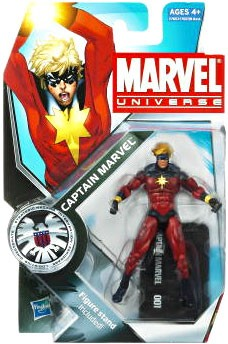 Marvel Universe: Series 3 - Captain Marvel Action Figure #1