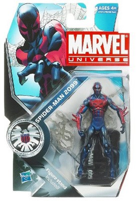 Marvel Universe: Series 3 - Spider-Man 2099 Action Figure #5