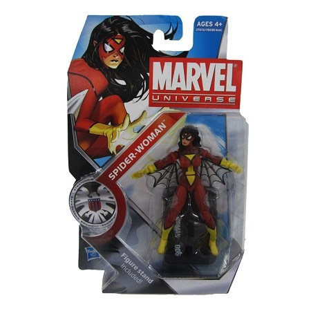 Marvel Universe: Series 3 - Spider-Woman Action Figure #6