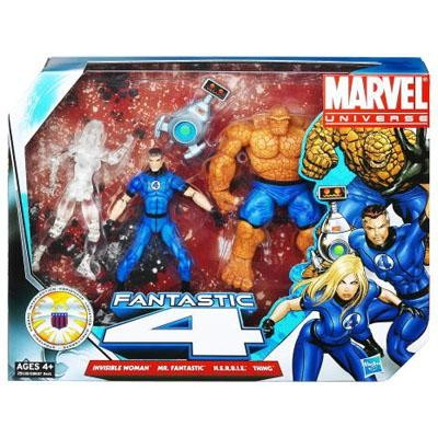 Marvel Universe: Fantastic Four Action Figure 4-Pack
