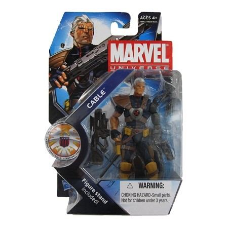 Marvel Universe: Series 3 - Cable Action Figure #7