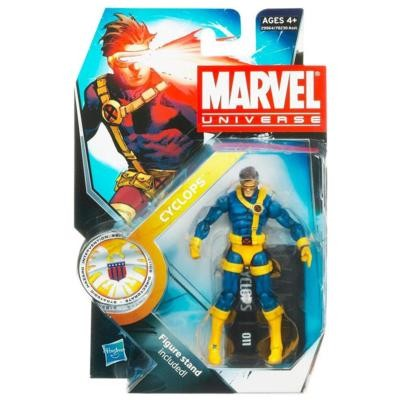 "Marvel Universe: Series 3 - Cyclops 3.75"" Action Figure #10"