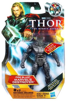 Marvel Movie Series: Thor: The Mighty Avenger - Fire Blast Marvel's Destroyer Action Figure
