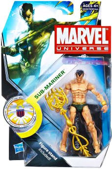 "Marvel Universe: Series 3 - Sub-Mariner 3.75"" Action Figure #19"
