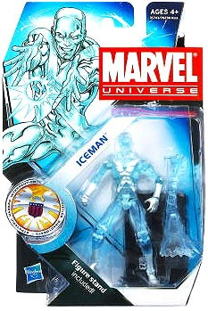 Marvel Universe: Series 3 - Iceman 3.75 Action Figure #23