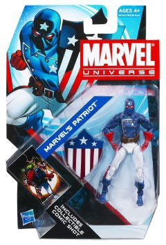 Marvel Universe: Series 4 - Marvel's Patriot Action Figure #2
