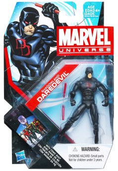 "Marvel Universe: Series 4 - Shadowland Daredevil 3.75"" Action Figure #4"