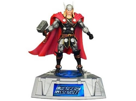 Marvel Comic Series: The Avengers - Thor Action Figure w/ Light-Up Base (Toys R Us Exclusive)