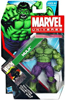 Marvel Universe: Series 4 - Hulk 3.75 Action Figure #9