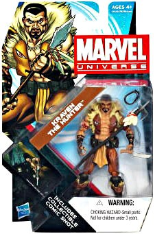Marvel Universe: Series 4 - Kraven The Hunter Action Figure #08
