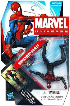 "Marvel Universe: Series 4 - Spiderman 3.75"" Action Figure #07 (Miles Morales Variant)"