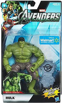 "Marvel Movie Series: The Avengers - The Hulk 6"" Action Figure"