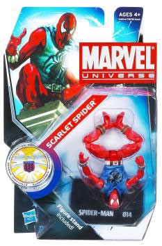 "Marvel Universe: Series 3 - Scarlet Spider 3.75"" Action Figure #14 (Upside Down Variant)"