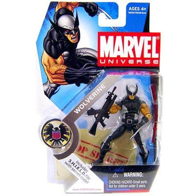 "Marvel Universe: Series 1 - Wolverine 3.75"" Action Figure #6"
